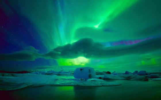 небо, northern, ночь