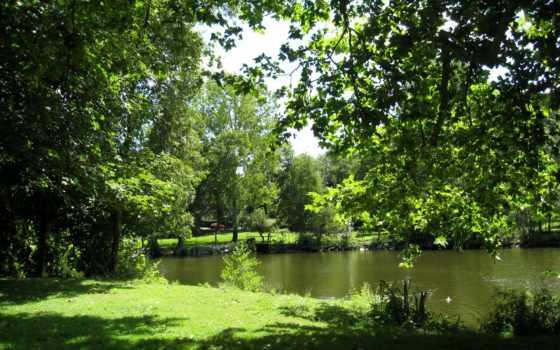 cugand, clisson, sèvre, франция, ville, озеро, motolampi, природа,