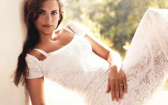 penelope, penelop, cruz, платье, white