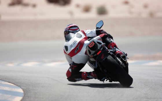 мотоцикл, honda, скорость