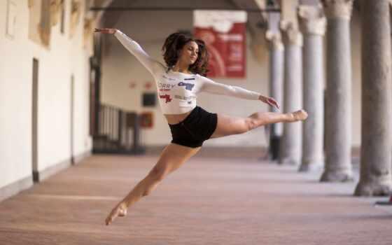 stephenson, девушка, dance, adele, настроение, прыжок, поза, дерево, fondo