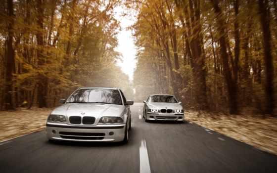 bmw, скорость, дорога
