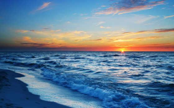 море, закат, sun Фон № 83863 разрешение 1920x1080