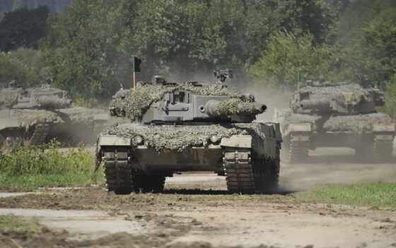 леопард, танк, armored