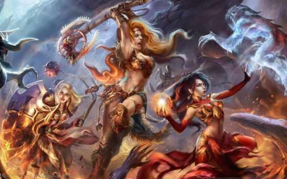 diablo, iii, art