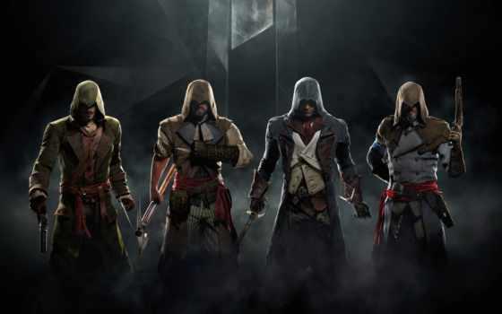 creed, assassin, unity,