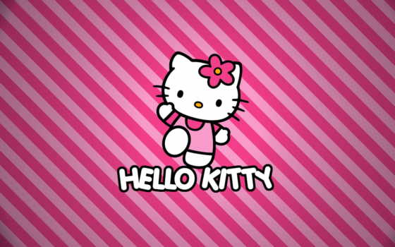 kitty, hello, фон, images,