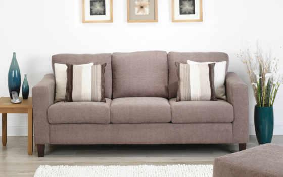 диван, interer, мебель