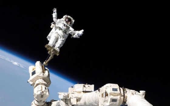 космос, космонавт, land