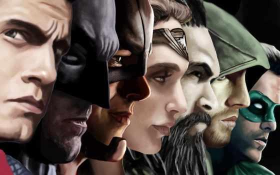 batman, flash, superman, justice, рассвет, зелёный, what, стрелок,