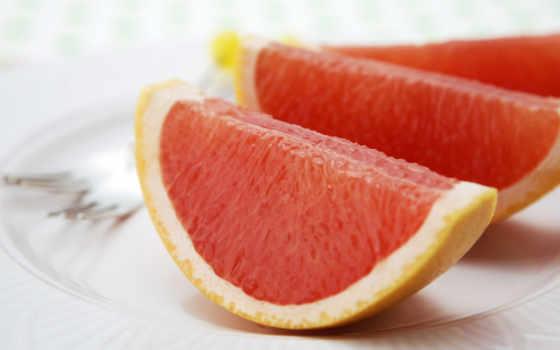 грейпфрут, дольки