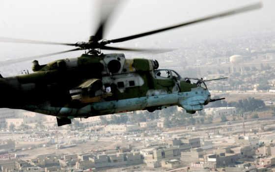ми, вертолет, полет