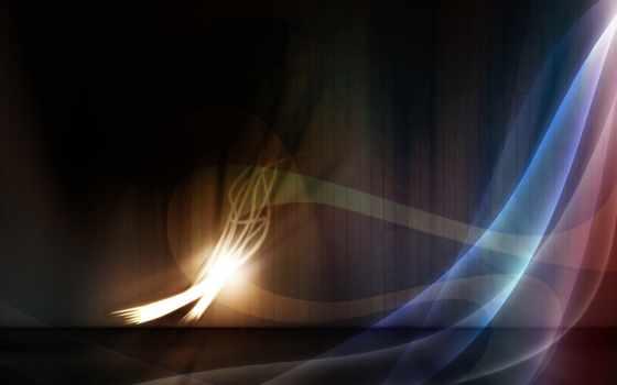 линии, wavy, дек, dark, abstract, огонь, фон,