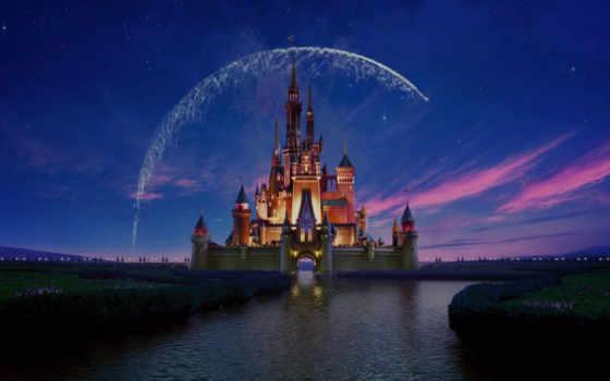 disney, castle, disneyland, walt, anniversary, ноутбук, desktop, macbook,