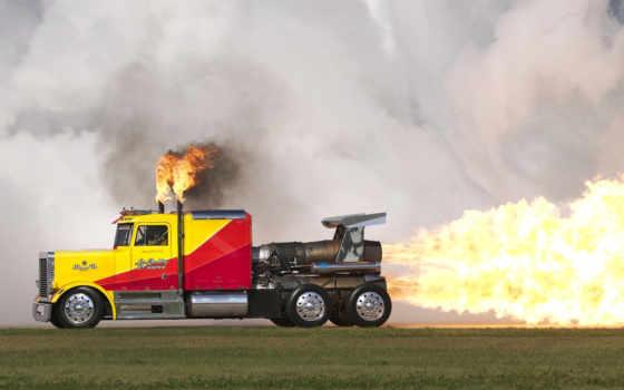 реактивного, truck, дрэгстера, shockwave, самый, кенворт, за, волна, ударная, разработку, проекта,