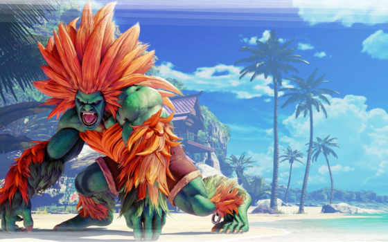 истребитель, улица, blanka, game, характер, fighting,
