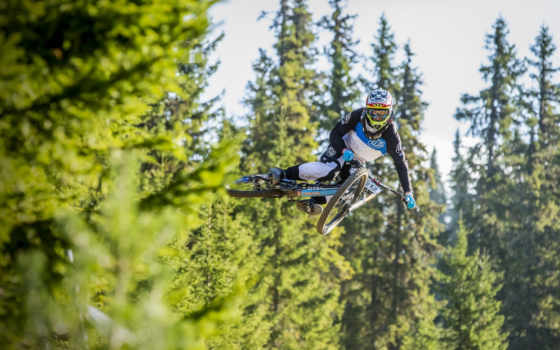 велосипед, прыжок, спорт Фон № 38655 разрешение 1920x1080