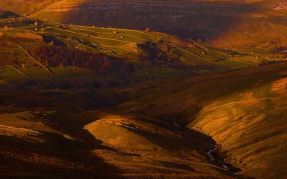 que, sunlight, кб, восход, дерево, ферма, fantastic, долина,