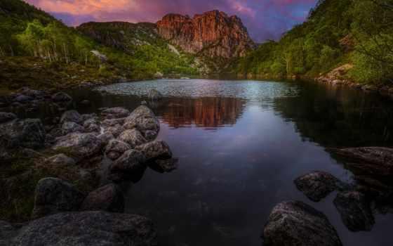 flickr, photos, favorites, explore, bjørn, world, bjørkeland, landscape, зелёный, blue, тона,