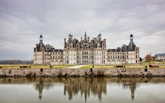 chambord, castle, chateau, french, пейзажи -, шамбор, замки, château,