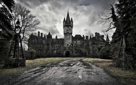 castle, миранда, share, château, architecture, ворона, raspada, красивые, природа,