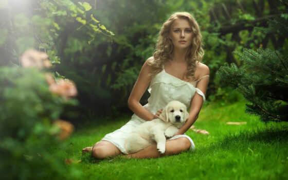 собака, природа, девушка, фотосессия, фото, фотограф