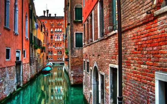 венеция, вода