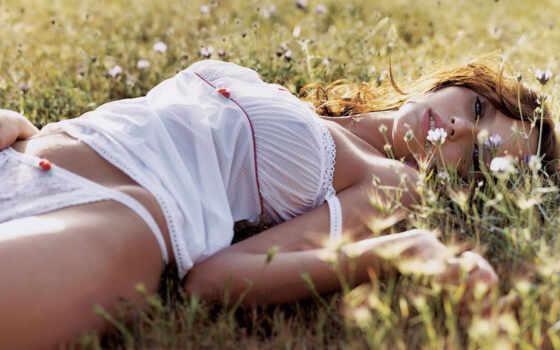 поле, девушка, девушки Фон № 54761 разрешение 1920x1200