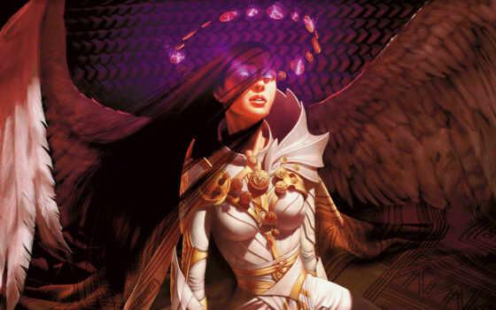 магия, gathering, крылья