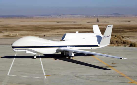 nasa, avião, tripulado