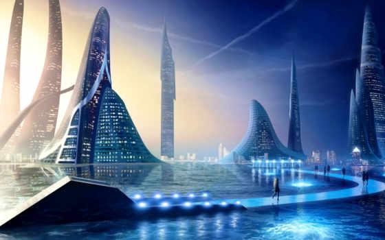 город, futuristic, будущее, pinterest, que, cities, architecture, об, ciudad, see,