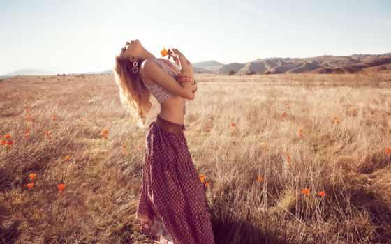 поле, девушка, devushki, lily, donaldson, фотосессия, corn, стоит, маком, девушек,