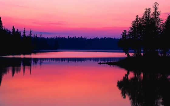 солнца, закат, закате, опубликовано, www, корабли, озеро, лучах, eu, fone,