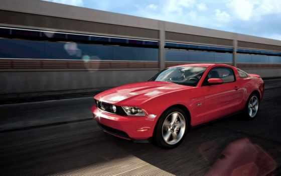 mustang, ford, авто, shelby, крутые, gt, red, скорость, gt500