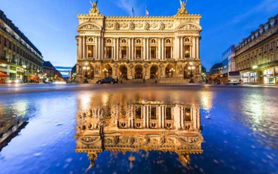 garnier, palais, париж, opera, гранд, франция, гарнье,