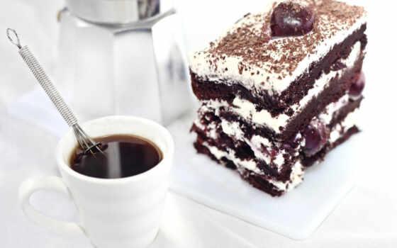 торт, postcard, чая, chocolate, ягода, тортик, fkusnost, black, best, плод