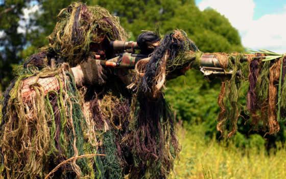 военные, пулемета, солдат