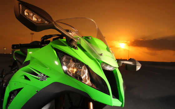 kawasaki, ninja, мотоциклы, мотоцикл,