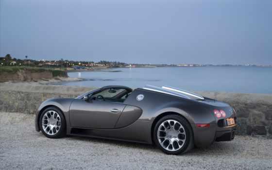 bugatti, veyron, grand