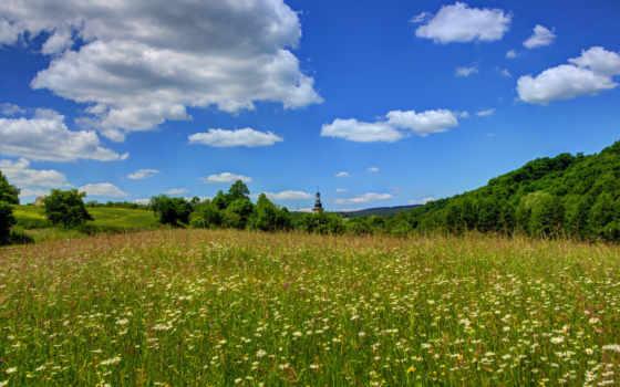 природа, landscape, небо