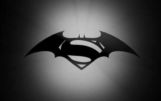 superman, batman, justice, рассвет, logo,