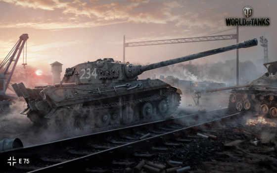 tanks, world, pantalla, fondos, escritorio, alta, fondo, tanques, juegos, су,
