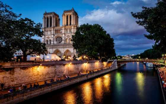 cathedral, париж, dame, notre, парижской, богоматери, dam, нотр, french,