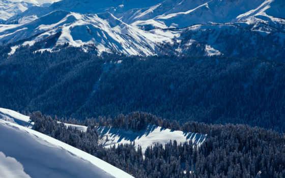 сочи, красная, поляна, landscape, russian, гора, природа, краснодарский, edge, winter,