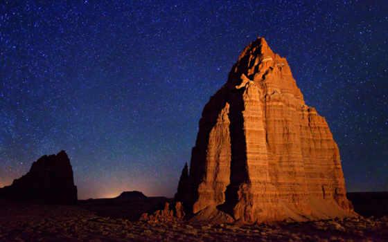 природа, пустыня, небо