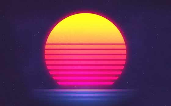 retrowave, synthwave, ретро, neon, synth, музыка, new, закат, волна, futuresynth,