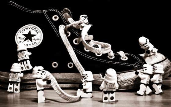 шнурки, кед, фигурки, converse, twitter, stormtrooper, lego, смотрите,