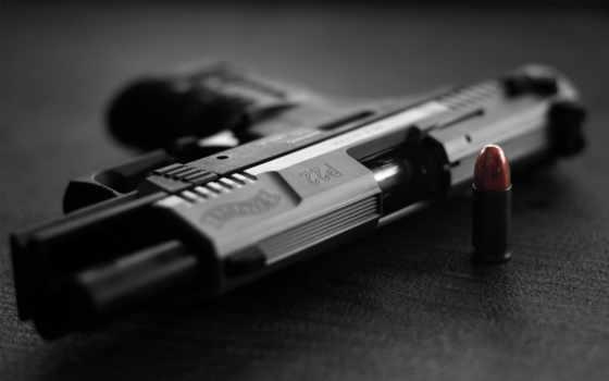 пистолет, walther
