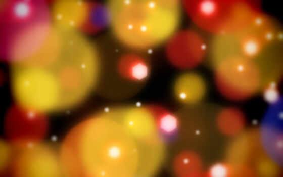 абстракция, цветная, шары, картинка, sparks,