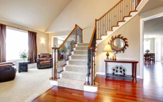 гостиная лестница